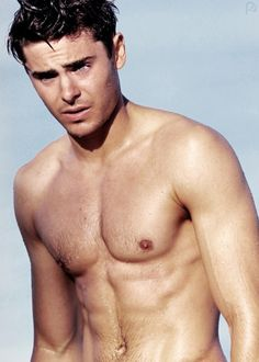 Zac Efron... From High School Musical cutie to banging hottie.