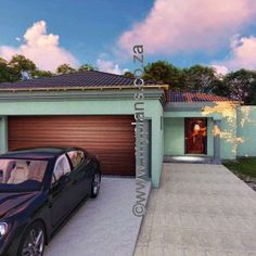 4 Bedroom House Plan – My Building Plans South Africa 6 Bedroom House Plans, Family House Plans, Home Design Floor Plans, Plan Design, My Building, Building Plans, Floor Layout, House Design, South Africa
