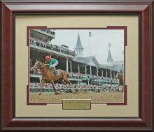 Animal Kingdom Kentucky Derby Photo Framed