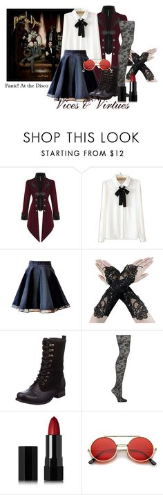 """""""Vices & Virtues // Panic! At the Disco"""" by artist-demigod ❤ liked on Polyvore featuring WithChic, Emilio Cavallini, Serge Lutens and ZeroUV"""