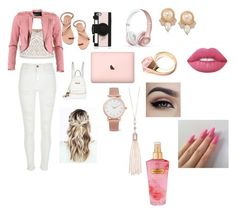 """""""Untitled #544"""" by oliviamarvel on Polyvore featuring New Look, River Island, Elina Linardaki, Kate Spade, Beats by Dr. Dre, FRACOMINA, Larsson & Jennings, Oasis, Carolee and Gucci"""