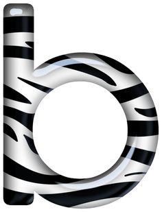 27 best clip art abc animal prints images on pinterest animal rh pinterest com zebra print clip art borders zebra print numbers clipart