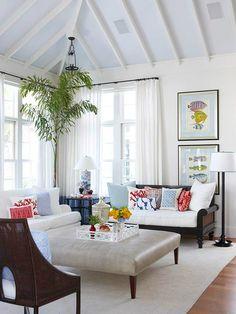 White Living Room Ideas 53