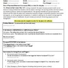 This word document is a fill-in form for individuals to create an Behavior Intervention Plan for students with behavioral difficulties. This form s...