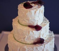 Photo Simply Homemade Wedding Cake