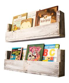 Another great find on #zulily! Reclaimed Wood Bookshelf Set #zulilyfinds