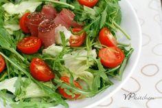 recipe/ salad with arugula