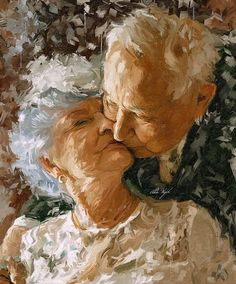 The Ancient One, Old Couples, Open Art, Beautiful Paintings, Watercolor Paintings, Eye Candy, Art Pieces, Artist, Artwork