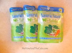 Natural Balance Platefulls Grain-Free Pouches for Cats Review(#FreeProductRecieved)