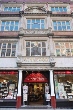 Stanfords Bookstore, London