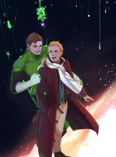 """hiruhirudo: """"Because Christmas is all about red and green, thats why. """""""