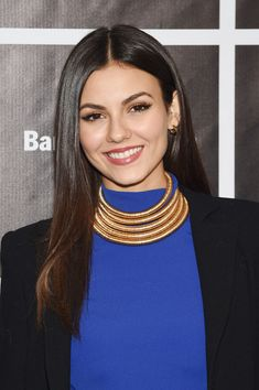 "Actress Victoria Justice attends as Baby Buggy celebrates 15 years with ""An Evening with Victoria Justice - Jerry Seinfeld and Amy Schumer"" presented by Bank of America - Arrivals at Beacon Theatre on November 16, 2015 in New York City."