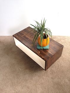 FREE SHIPPING!!! The Willow Handmade Coffee Table Mid Century Modern Coffee Table