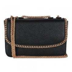 Tom & Eva Cross Body Clutch Damen Umhängetasche in schwarz
