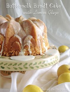 Buttermilk Bundt Cake with Lemon Glaze | Taking On Magazines | www.takingonmagazines.com | Perfectly tart and fantastically sweet, this beautiful Buttermilk Bundt Cake with Lemon Glaze is as delicious as it looks and sounds.