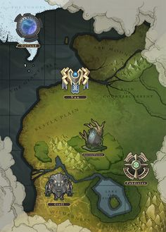 555 Best Game Art Map images