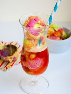 Unicorn Floats | From a Simple and Healthy Drinks to a Colorful and Alcoholic Beverages! Be Refresh with these Homemade Drink Recipes.