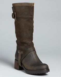 Vera Wang Flat Riding Boots - Essie thestylecure.com