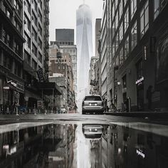 Skyline reflections. Photo by @jayscale #stayandwander