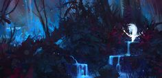 ArtStation - Enchanted Forest, Aaron Griffin