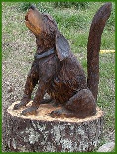 Artistry in Wood.net by The Chainsaw Artist Dayton Scoggins