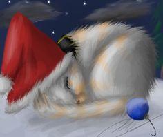 Silent Night... by The-Pallas-Cat.deviantart.com on @deviantART