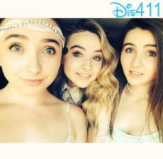 Photos: Sabrina Carpenter With Her Sisters At Zachary Gordon's 16th Birthday Bash June 14, 2014