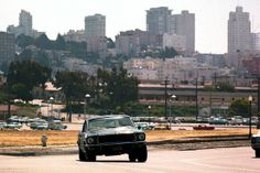 "A 1968 Mustang found in a Mexico junk yard has been confirmed by a Ford expert to be one of two cars used in Steve McQueen's San Francisco cop classic ""Bullitt. Mustang Fastback 1968, Cool Car Pictures, Car Pics, Trucks And Girls, Men Photography, Great Films, Steve Mcqueen, Vintage Cars, Cool Cars"