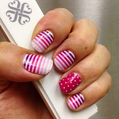 My current #jamberry manicure. Mom liked it so much she asked me to do hers the same!