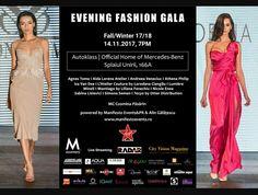 Eveniment recomandat de VIPstyle.ro Marți, 14 Noiembrie 2017, începând cu ora 19.00, va avea loc Evening Fashion Gala Fall/Winter 17/18, unul dintre evenimentele multibrand reprezentative de modă din România, marca Manifesto Events&PR, în colaborare cu Alin Gălățescu. Pentru această ediție, organizatorii au ales ca și locație showroom-ul Autoklass I Official Home of Mercedes-Benz.  Mai multe detalii pe: http://www.vipstyle.ro/evening-fashion-gala-fallwinter-1718-14-11-2017/