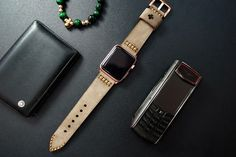 Apple Watch Band -Black Forest Atelier-Handmade Vintage Leather Straps for Apple Watch Series 1 and 2 NEBF02G-D3 by NameEngraved on Etsy https://www.etsy.com/listing/486731627/apple-watch-band-black-forest-atelier