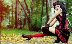 Paradise Kiss: Caroline by Mika-Kallahan on DeviantArt Death Metal, Cyberpunk, Rockabilly, Paradise Kiss, Grunge, Steampunk, Punk Goth, Fantasy, Gothic Art