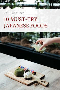 Read 10 Must-try Japanese food here! You will know what to eat in Japan and best Japanese food to try here! Ramen, udon, sushi, okonomiyaki, yakiniku, soba, takoyaki, okonomiyaki, tempura, matcha tea, and more! You'll definitely want to save it in your Japan Board so you can try when you're in Japan! #japan #japanesefood #yummyfood #foodguides #sushilovers #ramen #udon #tempura #foodlover #food #cheesecake #yummy #delicious #deliciousfood #foodie #foodiegram