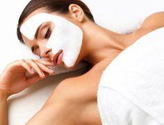 Máscaras de glicerina para o rosto