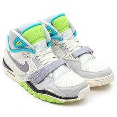 NIKE AIR TRAINER SC 2 VINTAGE QS SAIL/CEMENT GREY-NATURAL GREY-AQUA MARINE #sneaker