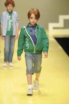 Boyswear In Emerald Green From Calvin Klein Jeans