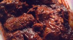 This recipe was ans still is a favorite among all of my siblings. Most often, my mom prepared the recipe with bone in ribs.
