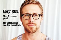 More fantasy projected onto Ryan Gosling.