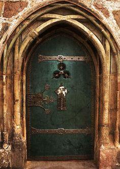 Ancient door by Rebekka Plies