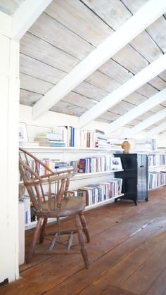 library space in the attic