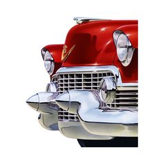 Plan59 :: Classic Car Art :: Vintage Ads :: 1954 Cadillac ❤ liked on Polyvore