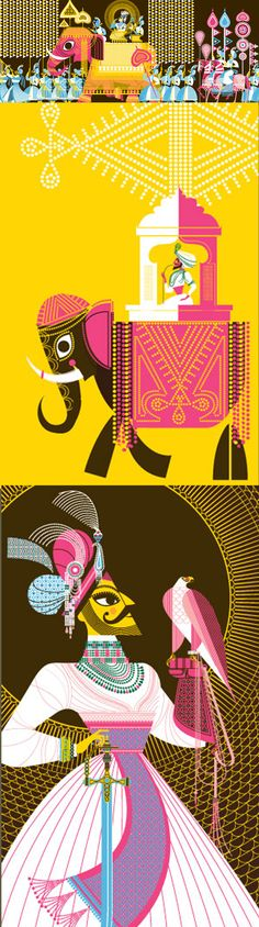 Deities, Demons, and Dudes with 'Staches: Indian Avatars by Sanjay Patel