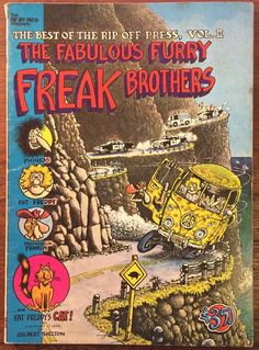 SELLING MY COLLECTION _ CLICK ON IMAGE TO MAKE ME AN OFFER BEST OF RIP OFF PRESS VOL 2 THE FABULOUS FURRY FREAK BROTHERS UNDERGROUND COMIX