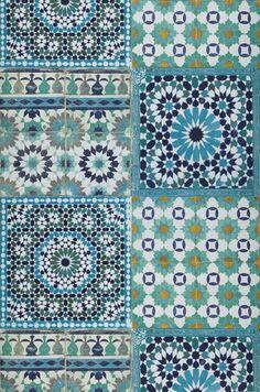 Azulejos | Carta da parati degli anni 70