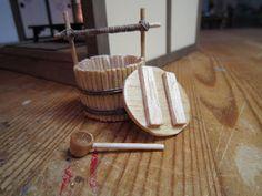 Small water bucket. #ryokan #miniature #japanese #dollhouse