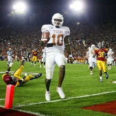 Vince Young winning!