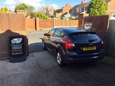 2013 Ford Focus in this afternoon for 18% Carbon tints to the rear.