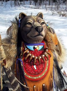 Grizzly Bear Manitou Spirit or Totem by FreedomGallery on Etsy, $945.00