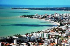 Praias urbanas da cidade de João Pessoa, capital da Paraíba. #João Pessoa - Paraíba - Brasil. O paraíso é aqui!