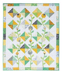Free Quilt Patterns to Download | Quilt Pattern Download from ConnectingThreads.com Quilting by Bloom